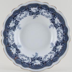 Edge Malkin Iselin grey Soup Plate c1900
