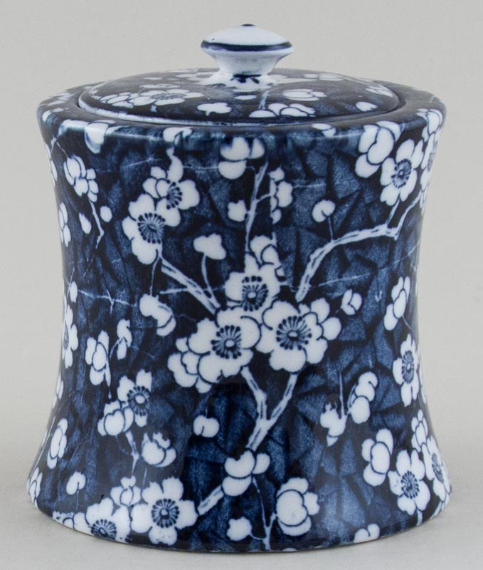 Empire Porcelain Hawthorn Biscuit Jar c1930s