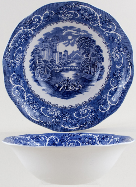Wedgwood and Co River Scene Bowl c1960s