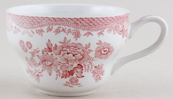 Wedgwood and Co Asiatic Pheasants pink Cup Breakfast c1970s