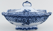 Vegetable Dish with Cover c1900