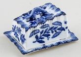 Miniature Cheese Dish c1900