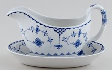 Furnivals Denmark Sauce Boat with Stand