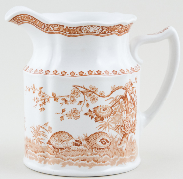 Furnivals Quail brown Jug or Pitcher