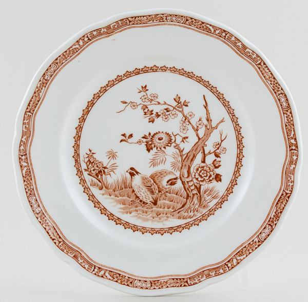 Furnivals Quail brown Plate