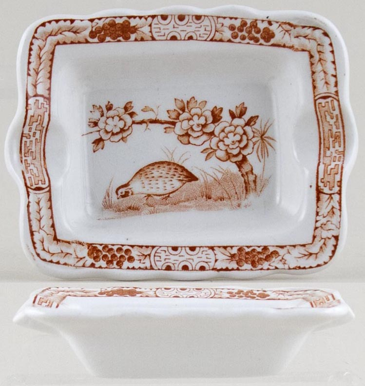 Furnivals Quail brown Ashtray