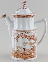 Furnivals Quail brown Coffee Pot
