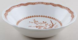 Furnivals Quail brown Cereal or Dessert Bowl