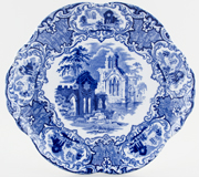 Jones George Abbey Bread and Butter Plate c1928