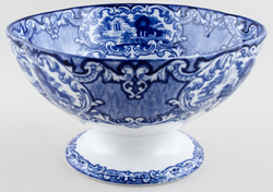 Jones George Abbey Bowl with Foot c1910