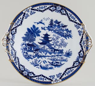 Grainger Bamboo Bread and Butter Plate c1880