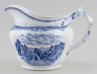 Grindley Scenes After Constable Jug or Pitcher c1930s