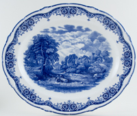 Meat Dish or Platter The Glebe Farm c1930s