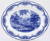 Meat Dish or Platter Noon c1930