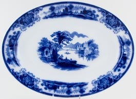 Grindley Shanghai Meat Dish or Platter c1910