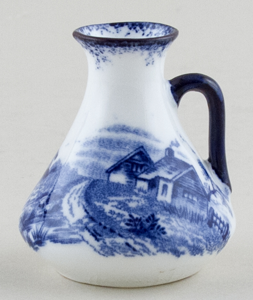 Hughes Unidentified Pattern Miniature Ewer c1910