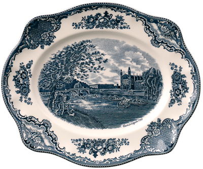 Johnson Bros Old Britain Castles Meat Dish or Platter