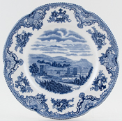 Johnson Bros Old Britain Castles Plate Chatsworth c1950s