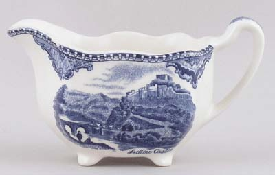 Johnson Bros Old Britain Castles Creamer or Jug c1950s