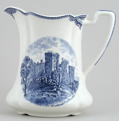 Johnson Bros Old Britain Castles Jug or Pitcher c1950s
