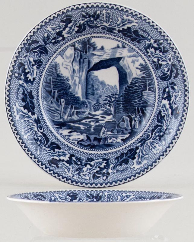 Johnson Bros Historic America Fruit Saucer The Natural Bridge, Virginia