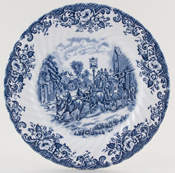 Plate Leaving the Village c1980s