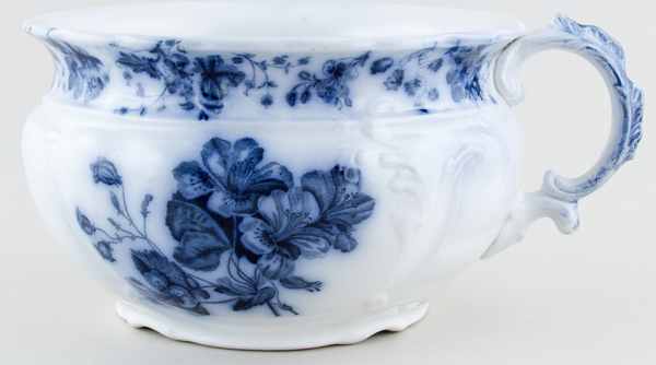 Johnson Bros Manhattan Chamber Pot c1900