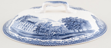 Johnson Bros Old Britain Castles Vegetable Dish Lid c1950s