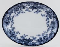 Keeling Chatsworth Meat Dish or Platter small c1900
