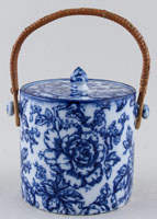 Keeling Cavendish Biscuit Barrel c1920