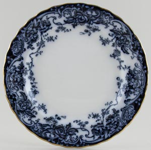 Keeling Chatsworth Plate c1910