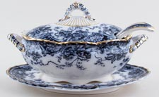 Keeling Chatsworth Sauce Tureen c1900