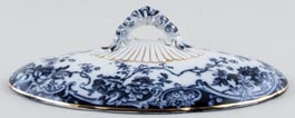Keeling Chatsworth Vegetable Dish Cover c1904