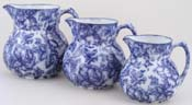 Jugs or Pitchers Set of Three c1920s