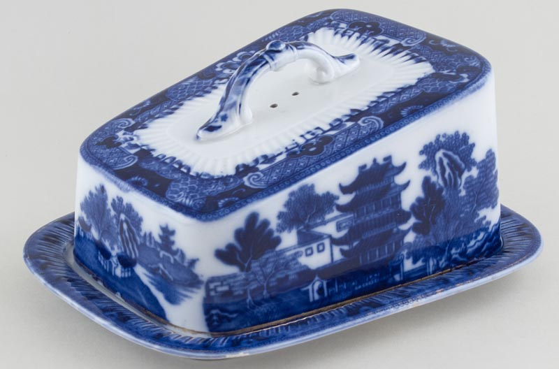 Keeling Broseley Cheese Dish c1890