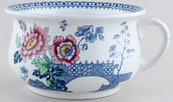 Keeling Langham colour Chamber Pot c1920s