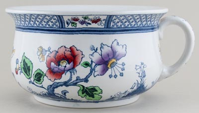 Keeling Springfield colour Chamber Pot c1920s