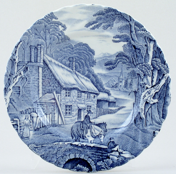 Kent Old Foley Plate c1960s