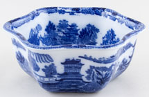 Maling Two Temples Bowl c1930
