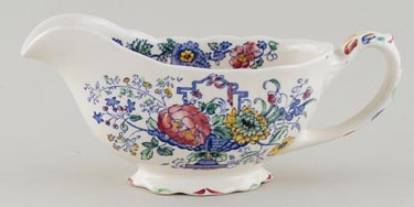 Masons Strathmore colour Sauce Boat