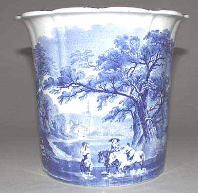 Masons Woodland Cache Pot or Jardiniere c1920s