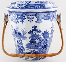 Masons Turner Willow Slop Pail c1900