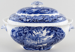 Masons Vista Soup Tureen c1950s