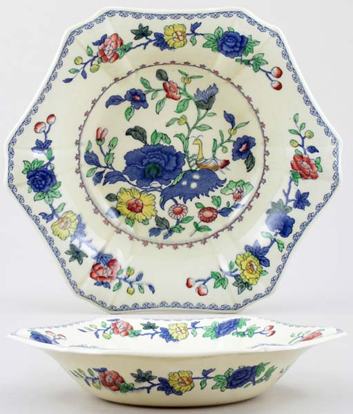 Masons Regency colour Bowl c1940