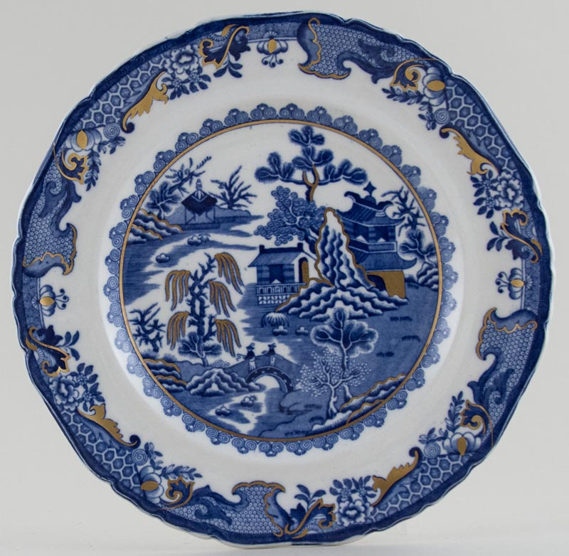 Masons Willow Plate c1930s