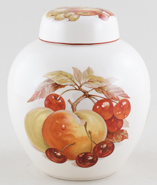 Masons Unidentified Pattern colour Ginger Jar 1950s