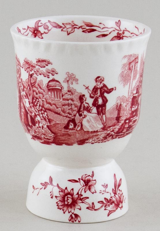 Masons Watteau pink Egg Cup double c1950