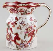Masons Mandalay Red Jug or Pitcher c1980s