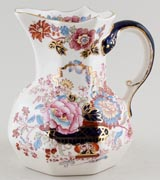 Masons Brocade colour Jug or Pitcher c1950s