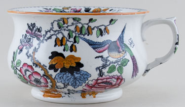 Masons Flying Bird colour Chamber Pot childs c1900
